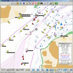 A busy English Channel, tracking the ship Aegean Glory